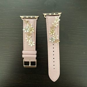 Pink Leather 38/40 mm Apple Watch Band